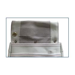 白革釘袋 ヨレ防止加工